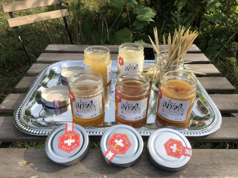 Stéphanie's honeys