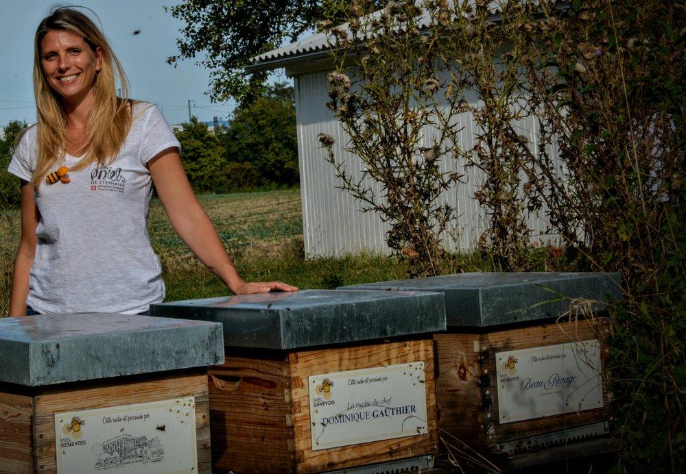 Stéphanie et ses miels genevoix