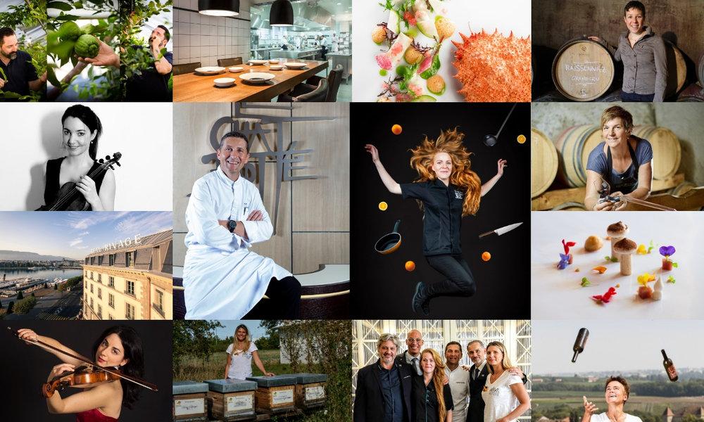 Nous créons des  évènements culinaires exclusifs  pendant lesquels vous rencontrez tous les artistes du terroir - chefs étoilés, Meilleurs Ouvriers de France, producteurs locaux, fermiers, pêcheurs, viticulteurs. Entourée de ses chefs étoilés et Meilleurs Ouvriers de France, La MaisonHubert sublime le meilleur du savoir-faire gastronomique français et suisse, exalte le French  Art de Vivre  et magnifie le Swiss Made. L'artisan et son savoir-faire deviennent les héros gastronomiques du XXIème siècle et racontent leurs histoires qui se perpétuent au fil des décennies.