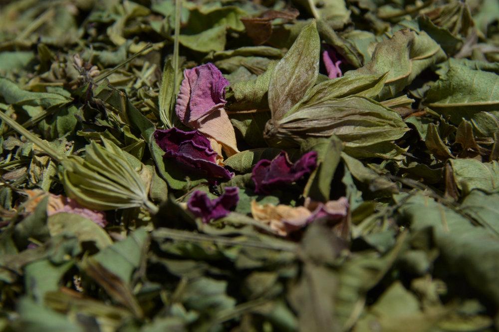 Des herbes et fleurs bio directement de Bretagne.