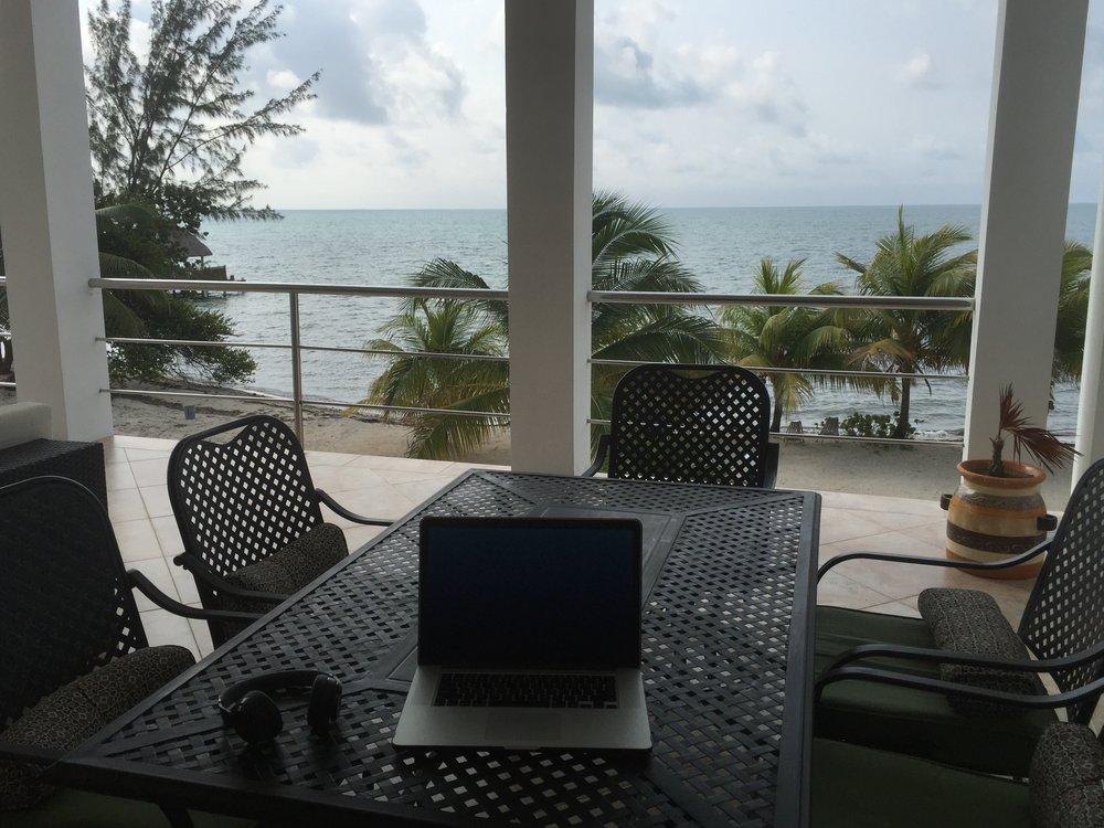 Work anywhere - Belize, 2016