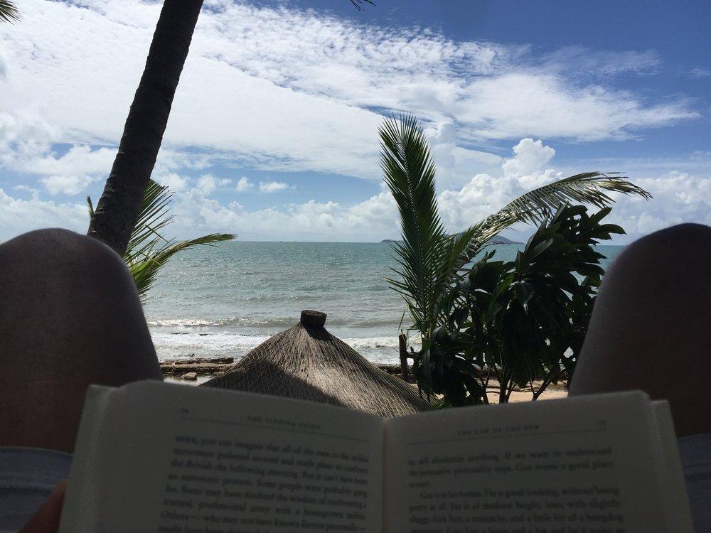 Make time to read - Sanya, 2016