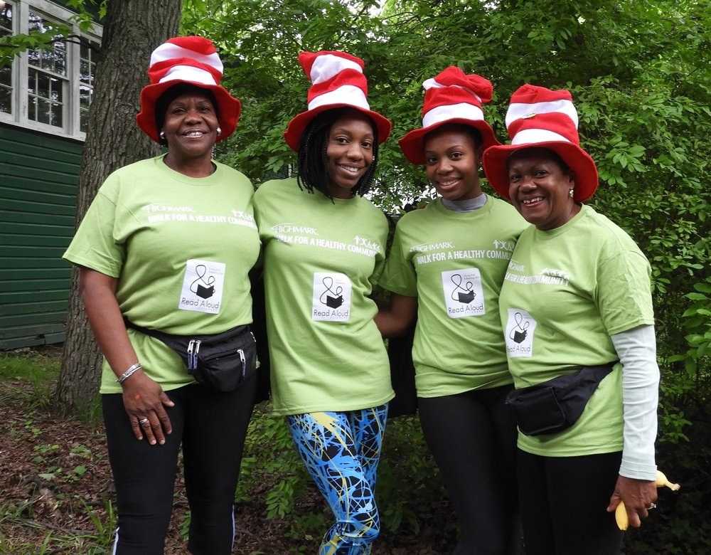 Support us in the Highmark Walk - Join us on June 9, 2018 for a fun event to raise funds for Read Aloud Delaware and introduce friends to our mission. For more information, please call us at (302) 656-5256.
