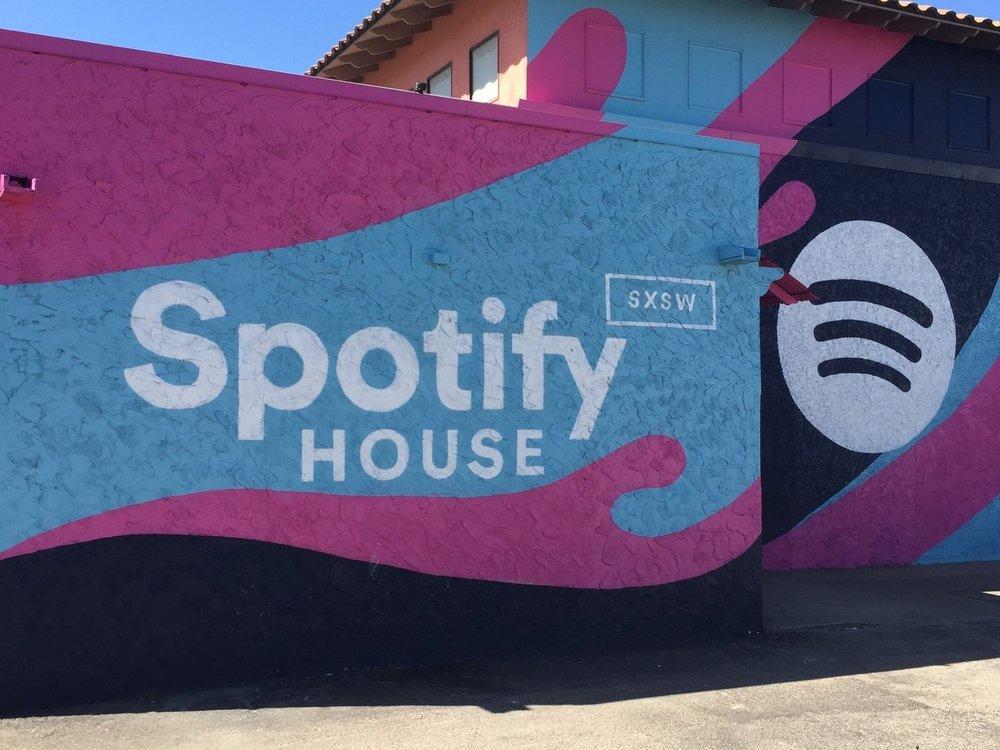 SPOTIFY - SXSW Spotify House