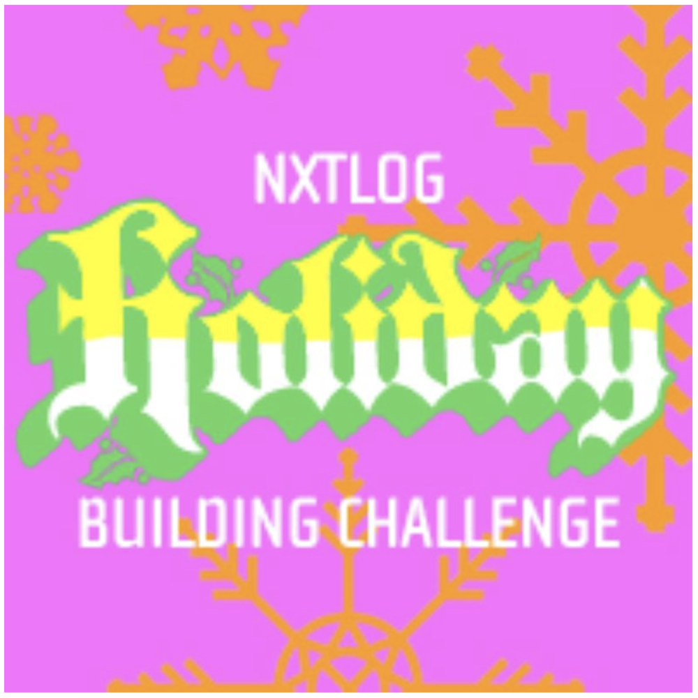 NXTLOG Holiday Building Challenge
