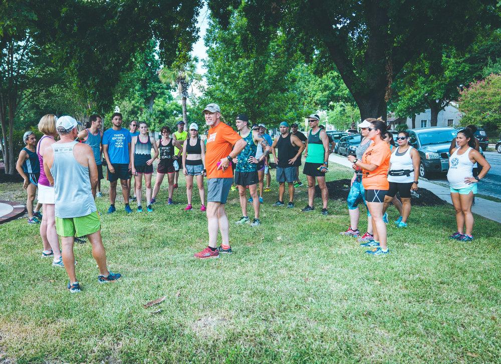 San Antonio Marathon Training Program