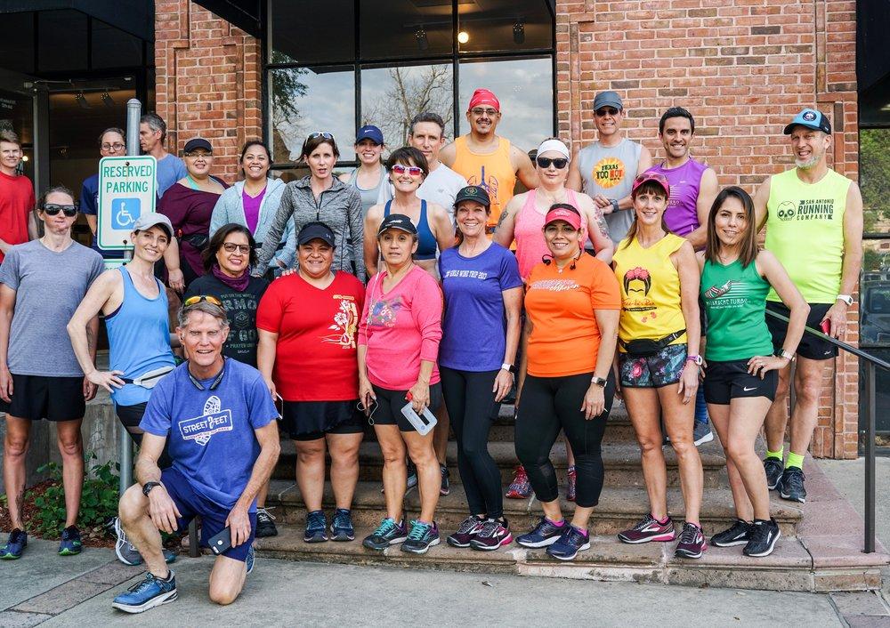 San Antonio Marathon Training Group