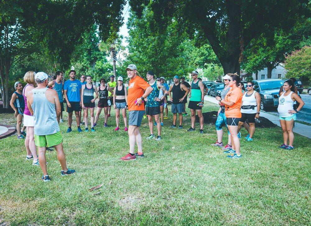 Training for the San Antonio Rock n Roll Marathon
