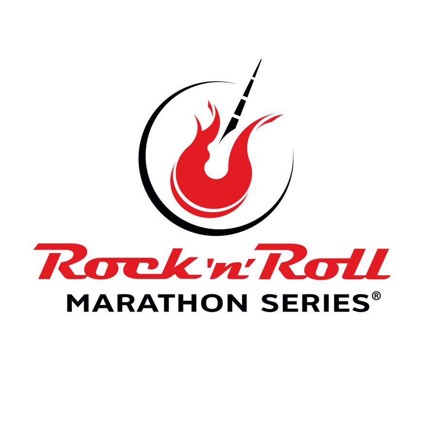 rock n roll marathon logo