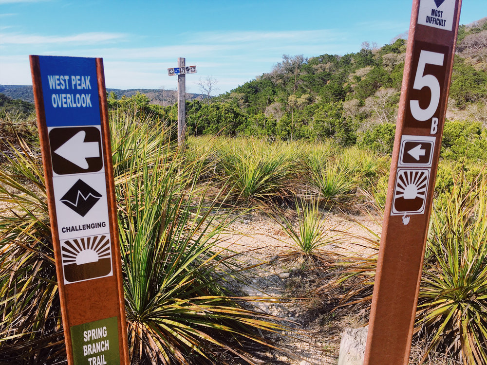 Bandera trail running with Bexar Tracks