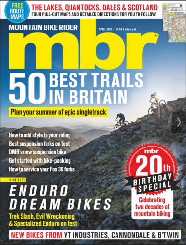 MBR magazine cover July 2017