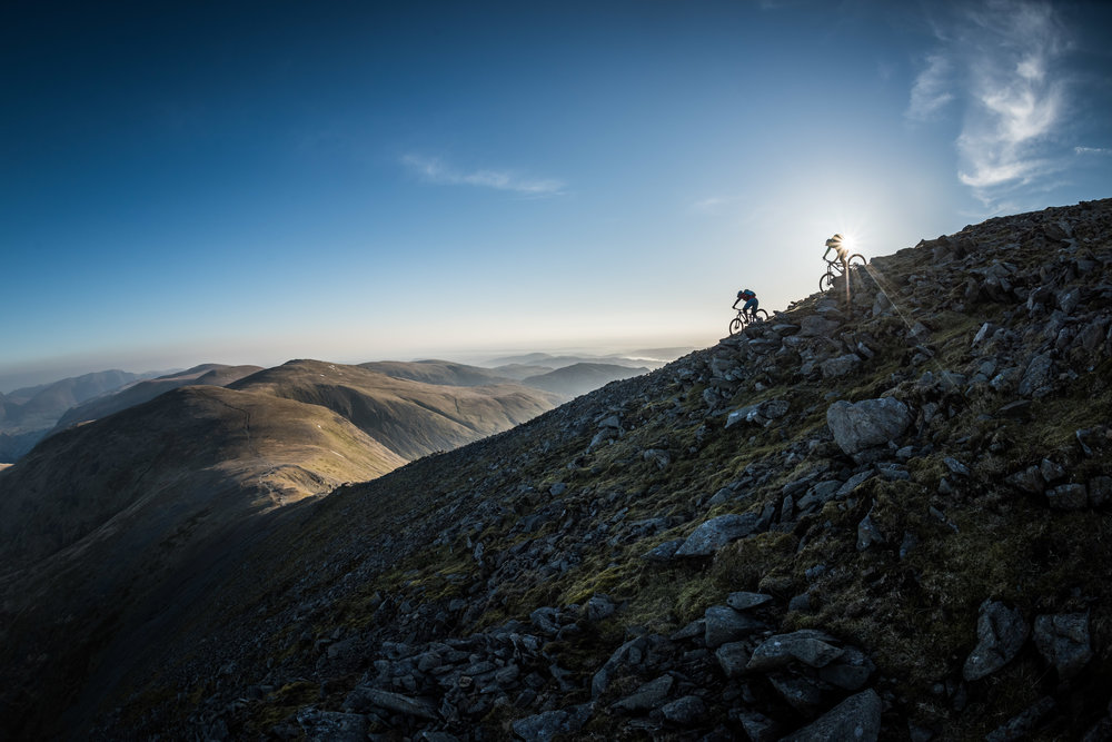 Helvellyn, Lake District. Photo by Roo Fowler