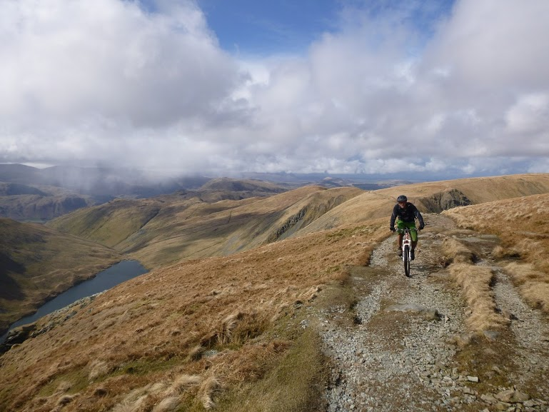 Lake District Mountain Biking Big Day Out on High Street
