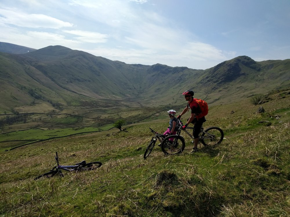 Spring Mountain Biking in the Lake District