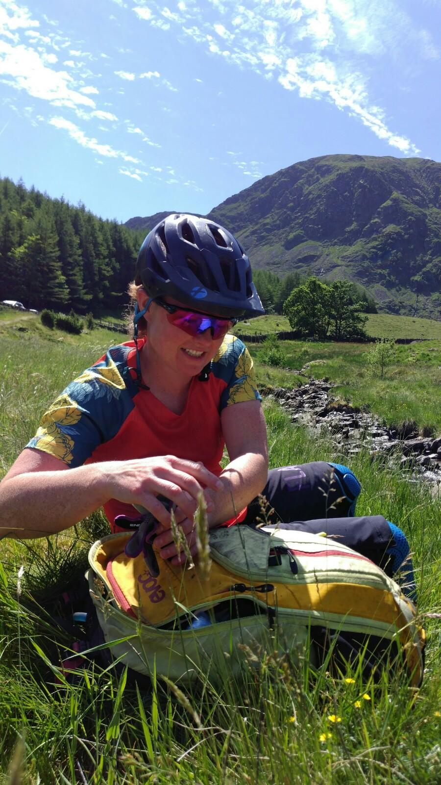 Hot and sunny mountain biking days!
