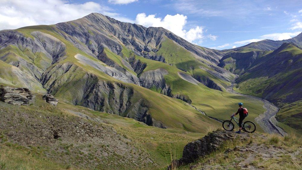 Wild scenery in the Hautes-Alpes