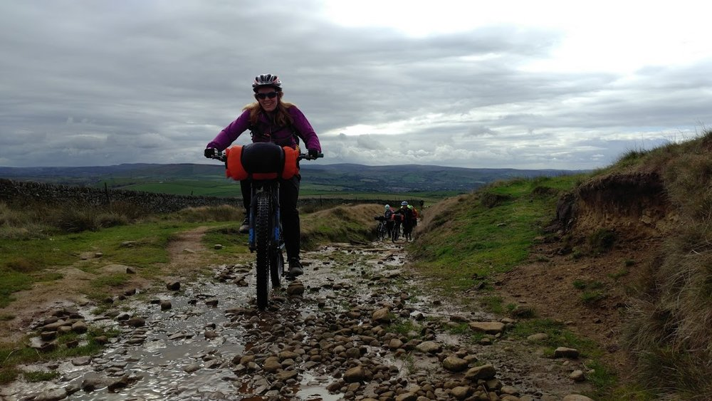 October Bikepacking in the Peak District