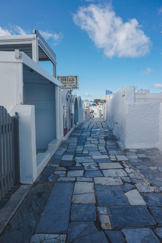 Visit Santorini off season