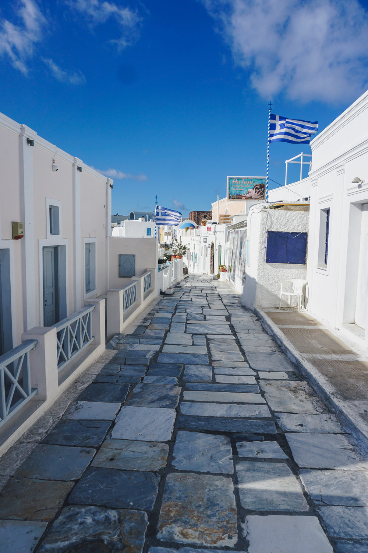 Santorini visit in offseason