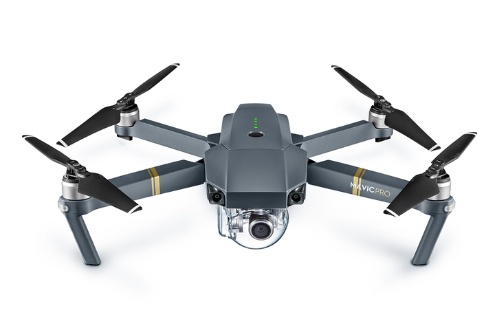 DJI Mavic Pro compact drone for traveling