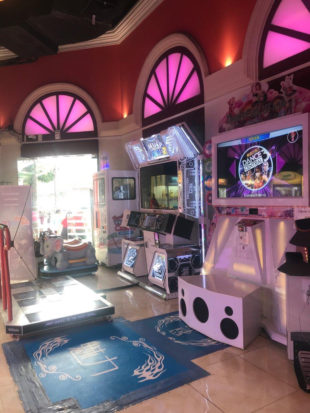 Dance Arcade games at alibaba