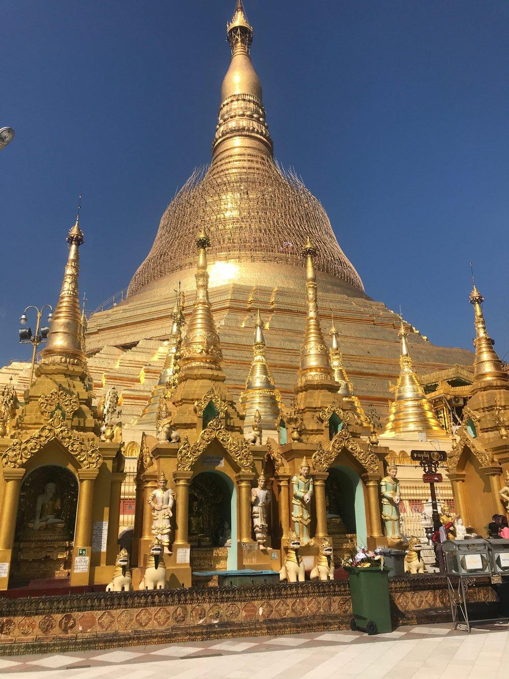 Shwedagon palace