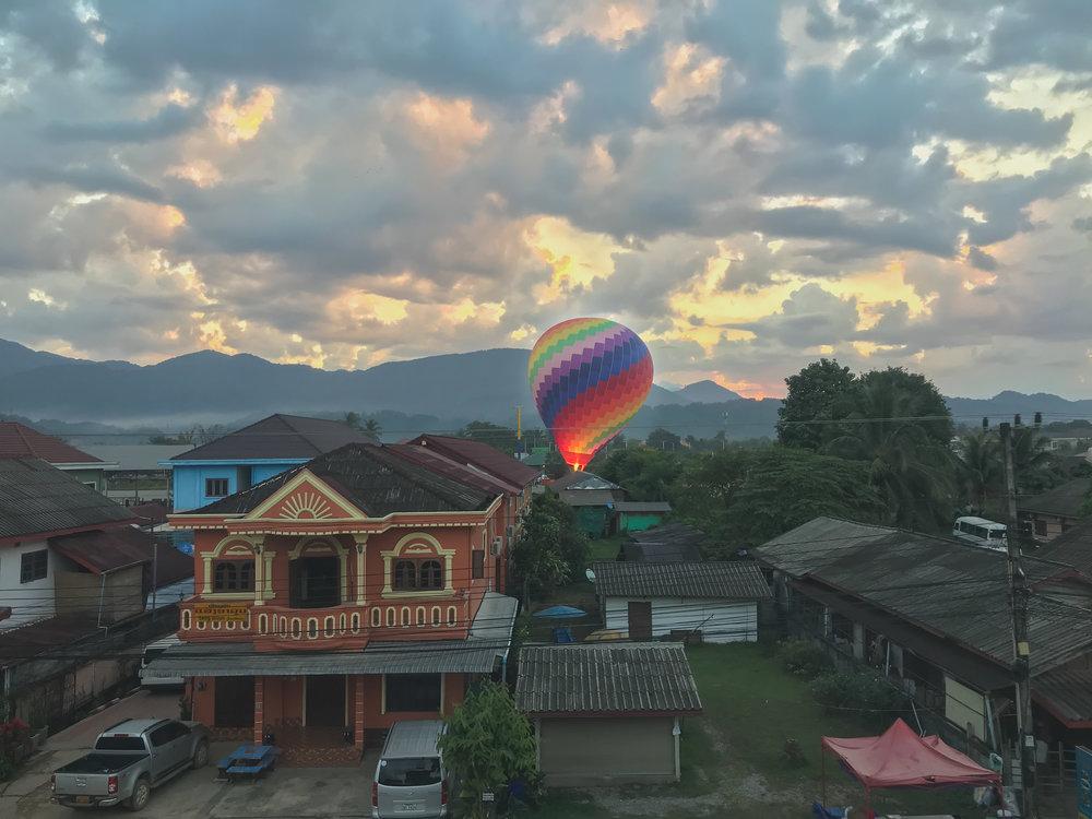 Vang Vieng Balloon