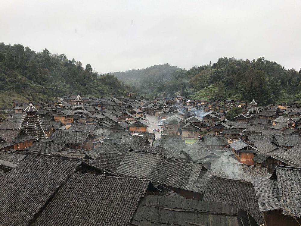 Dong Village in Guizhou, China