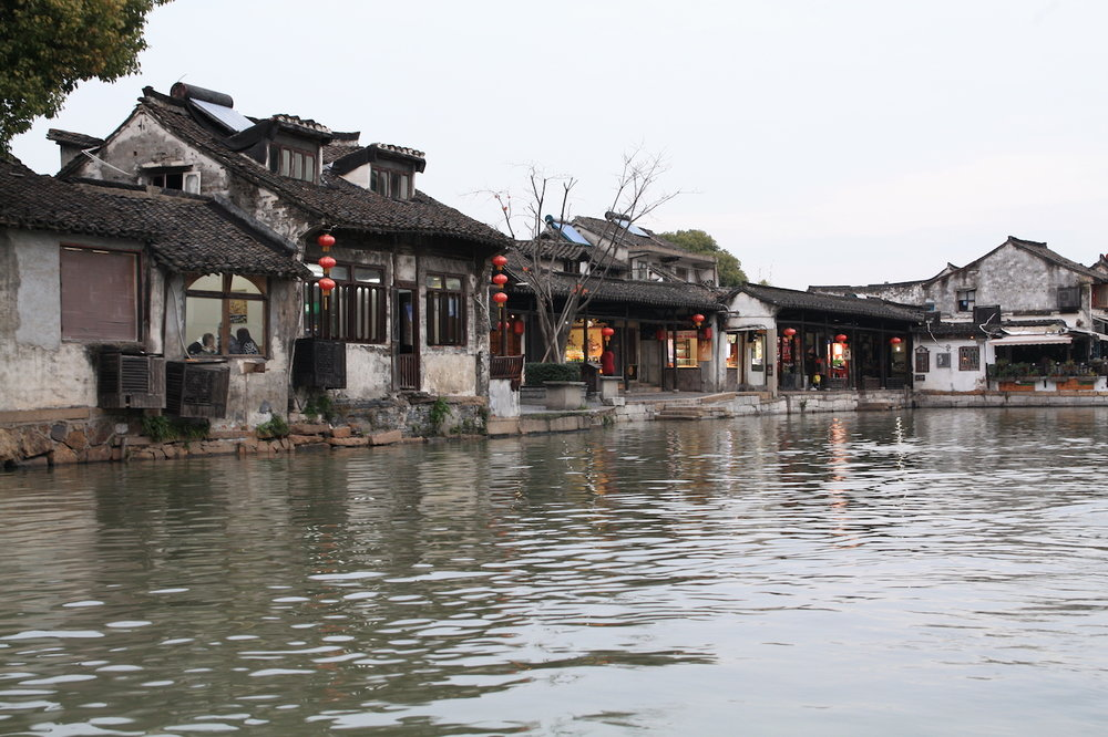 Watertown in Suzhou, China