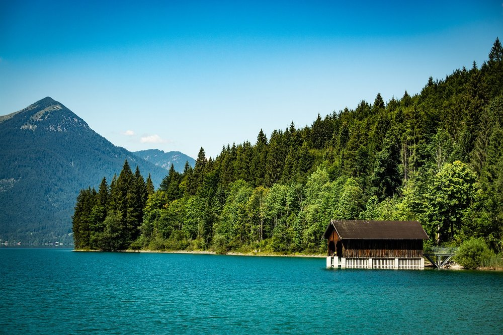 The most beautiful lakes of bavaria