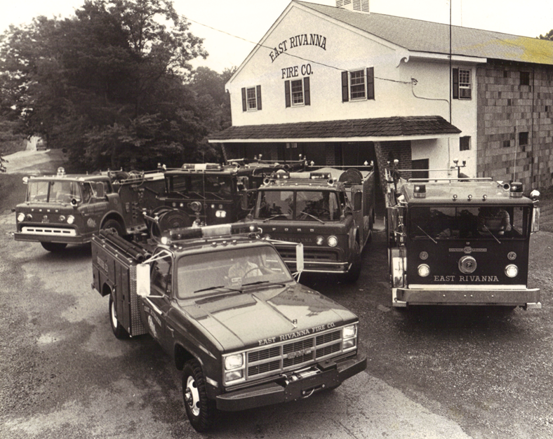 Old Firehouse & Trucks
