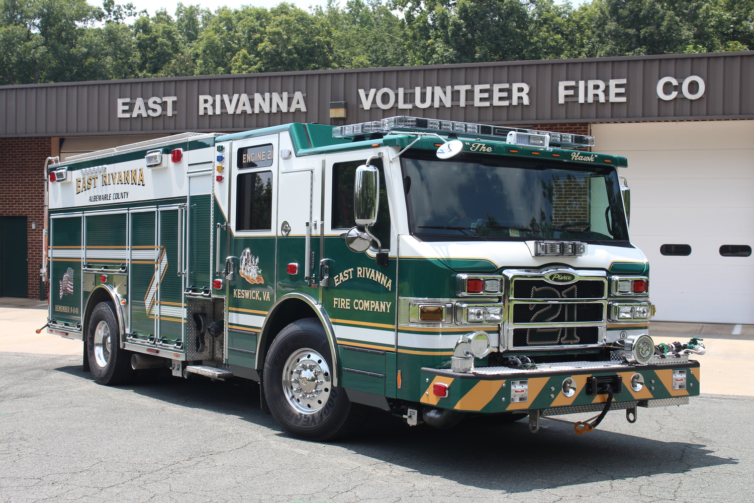 Helpful Resources East Rivanna Volunteer Fire Co Diagram Of Pierce Engine 2013 Velocity Puc Rescue Pumper
