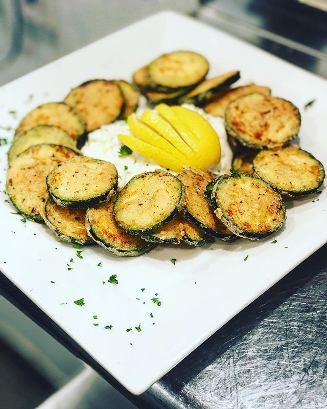 Zucchini chips have been added to the menu along with much more. Come check out all the new flavor at Rafina #rafinagreektaverna #greekfood #delicious #sofla #deezgreeks #delraybeach #rafina #bocaraton