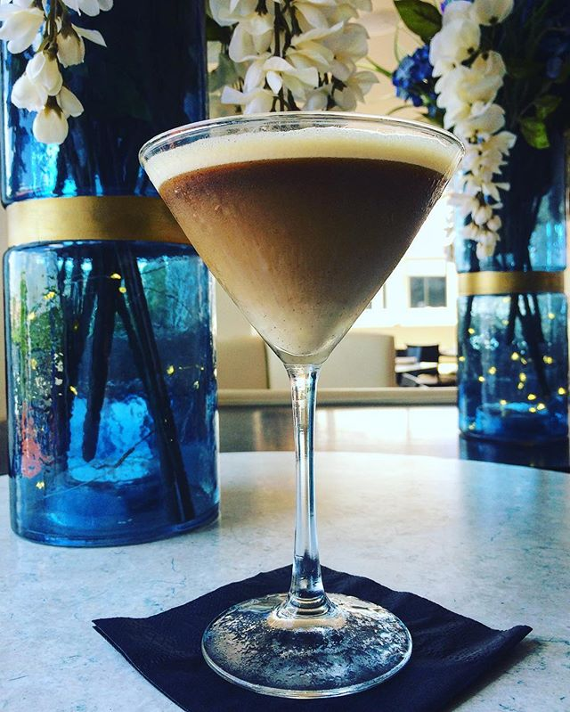 The espresso martini has entered the building. A must try at Rafina #yelp #sofla #rafinagreektaverna #bocaraton #deezgreeks #greekfood #martini #delicious #rafina