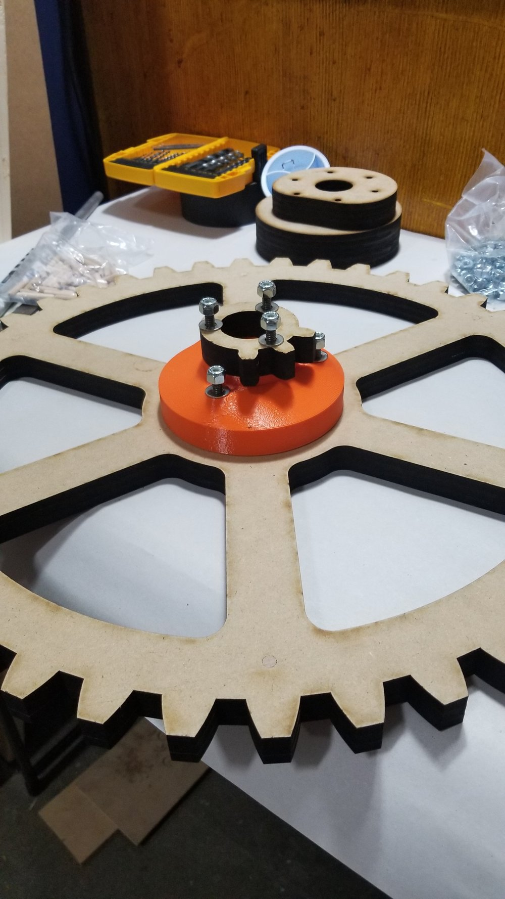 A 3D printed Spacer Assembly
