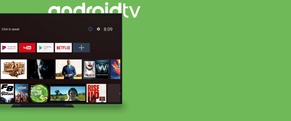 Android TV - Get started with your own Android TV launcher. →