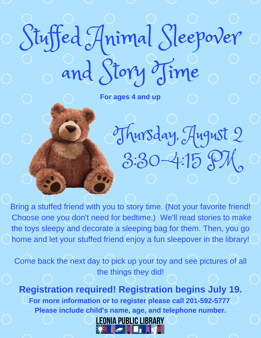 Stuffed Animal Sleepover and Story Time.jpg