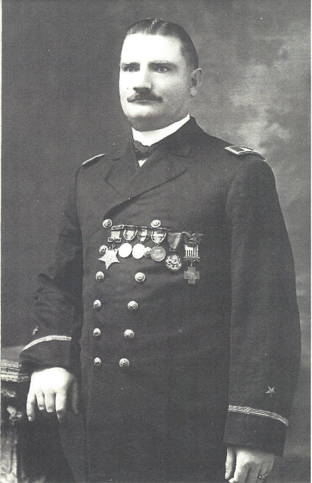 John McCloy circa 1900 (original photo held by Thomas Goff)