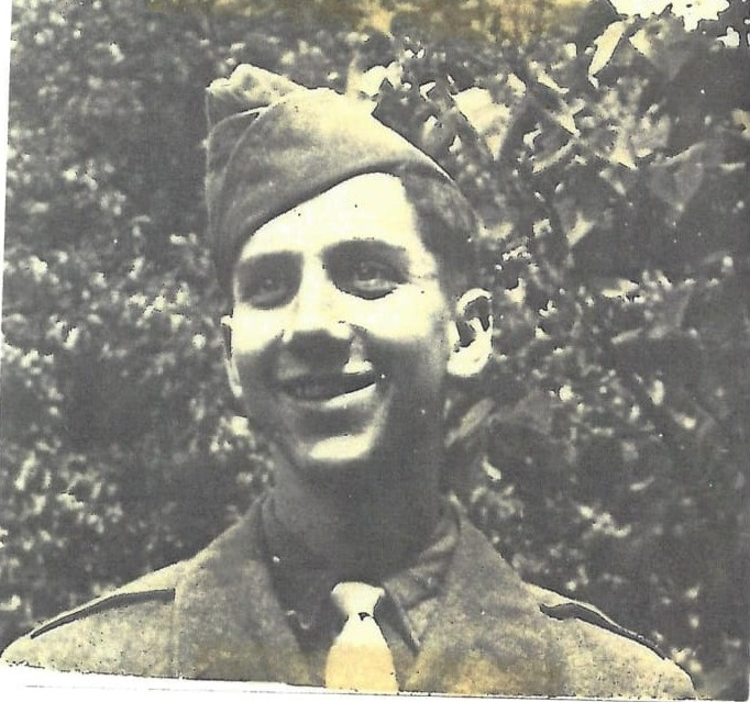 Victor Albrecht circa 1942 - The Second World War saw close to 800 Leonia men serving in the armed forces, among them Victor Albrecht who received a Bronze Star for action in Germany.Photograph donated by Leonia American Legion.