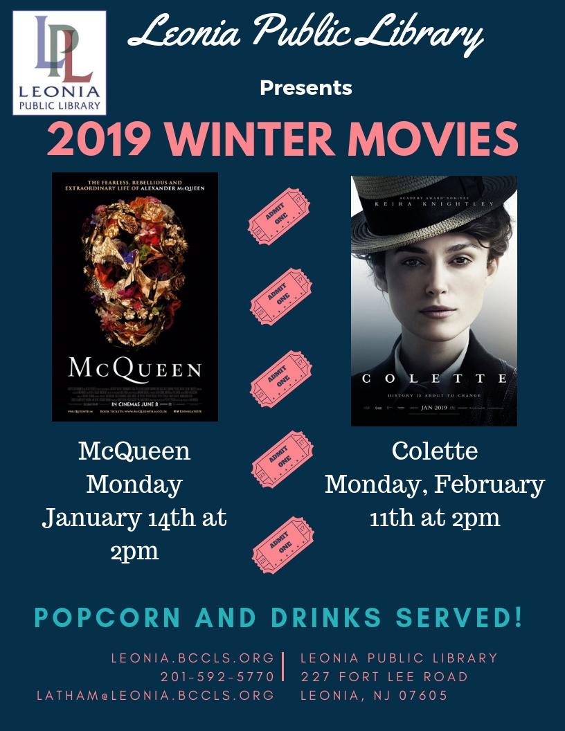 Movie Screening - Colette — Leonia Public Library in Bergen County