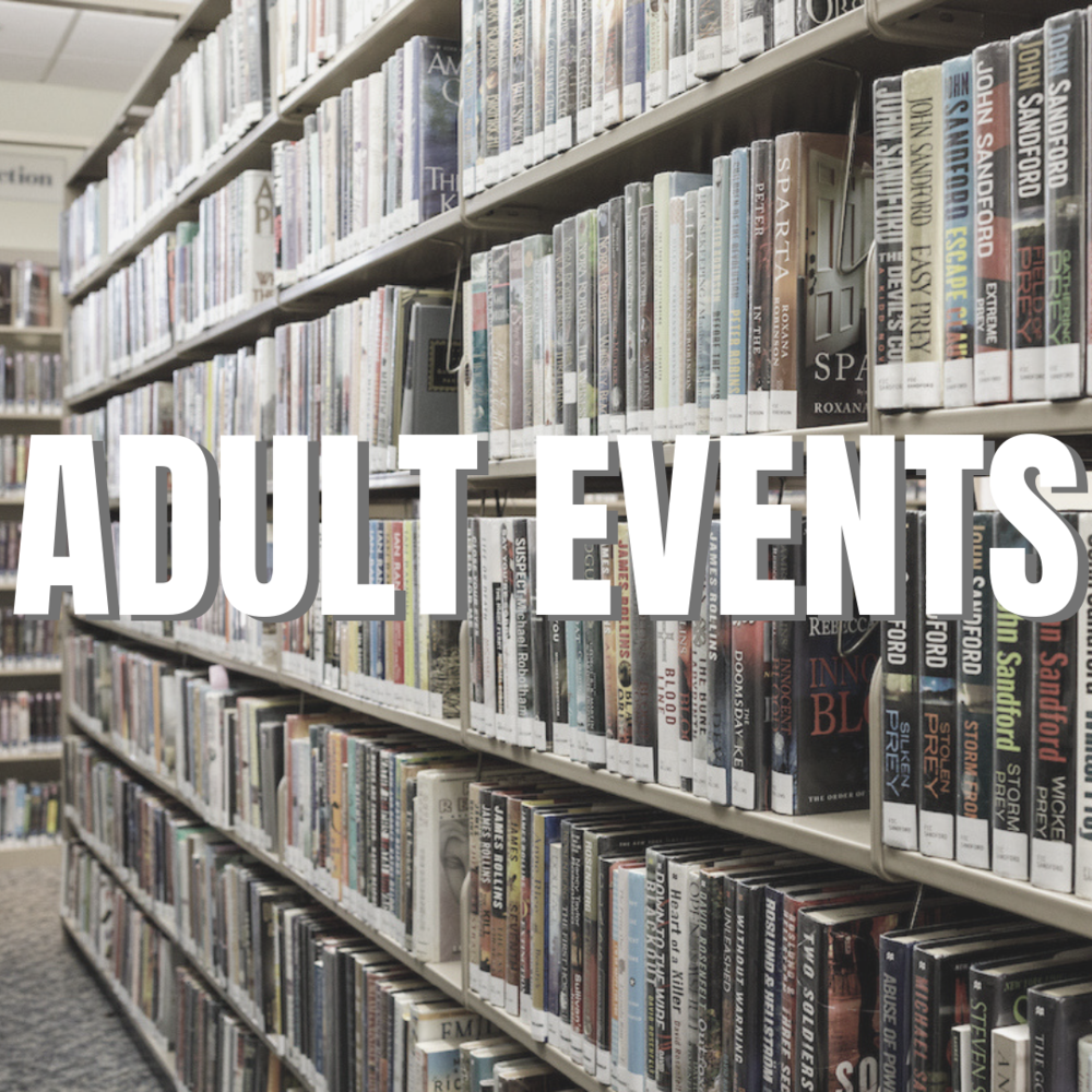 Adult Events at the Leonia Public Library in New Jersey
