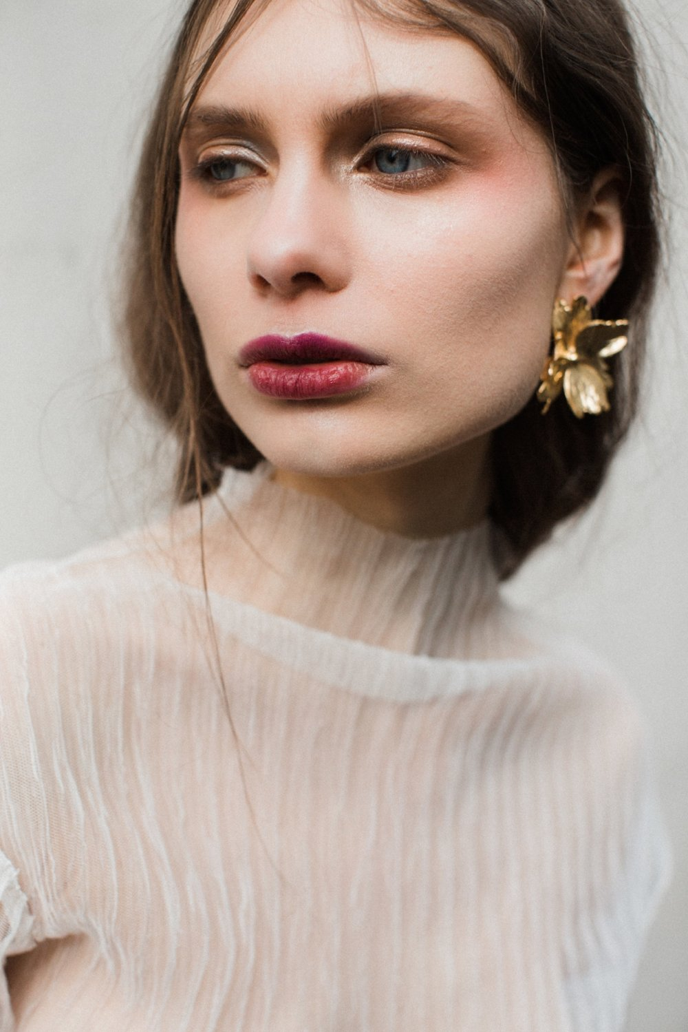 Flore Earring | Naturae Design - Handmade hair accessories and jewellery