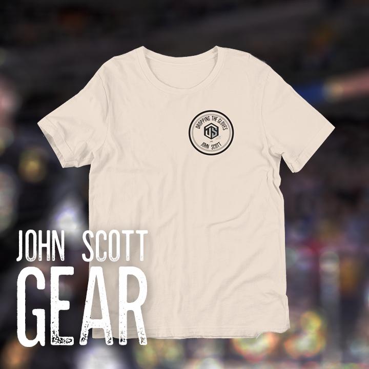 Official John Scott Gear - T-Shirts, Hoodies, Hats and more!