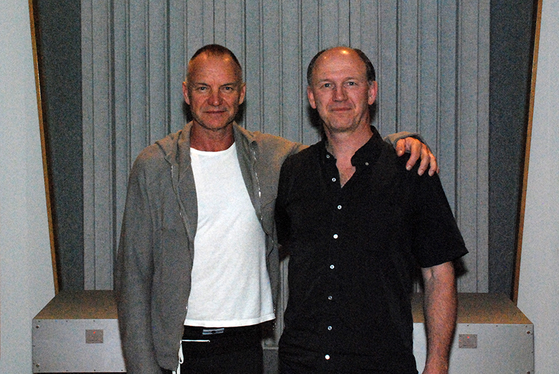 Sting and Scott Hull