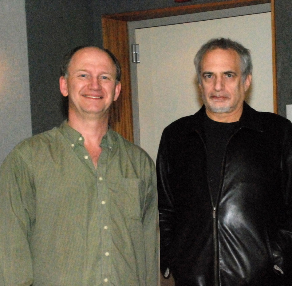 Scott Hull and Donald Fagan (Steely Dan)