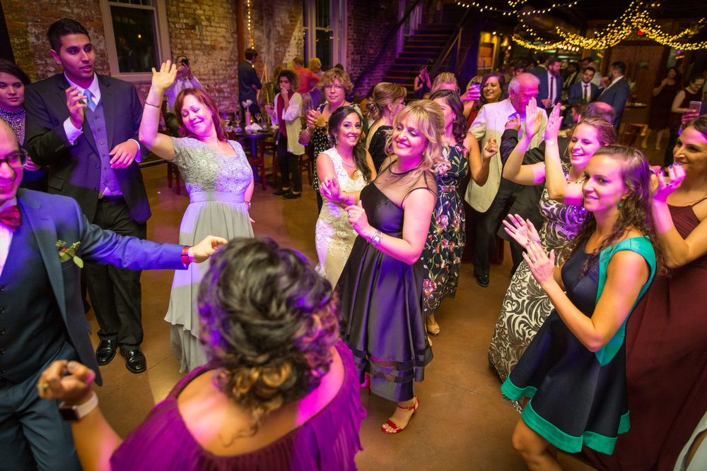 Kick your shoes off and dance! - And they sure did dance……..