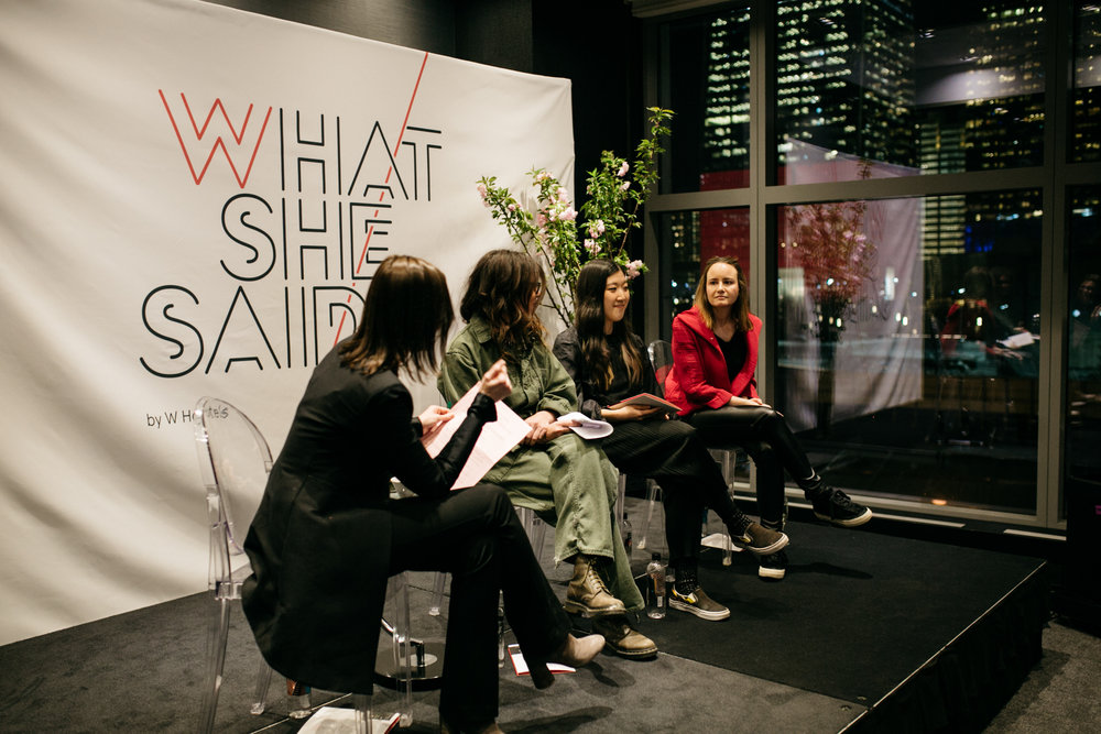 What She Said: Sitting Down with Leading Arts Entrepreneurs at W New York - Downtown - 2019READ THE ARTICLE