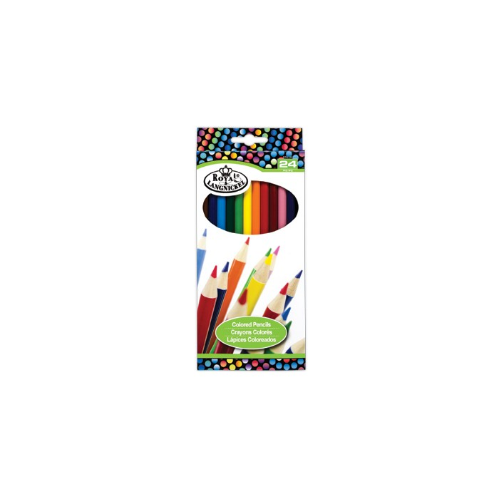 24 Colour Pencils by Royal & Langnickel
