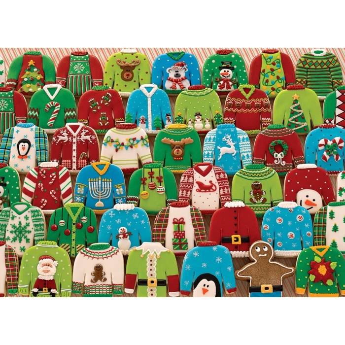 Ugly Xmas Sweaters 1000 pc Puzzle