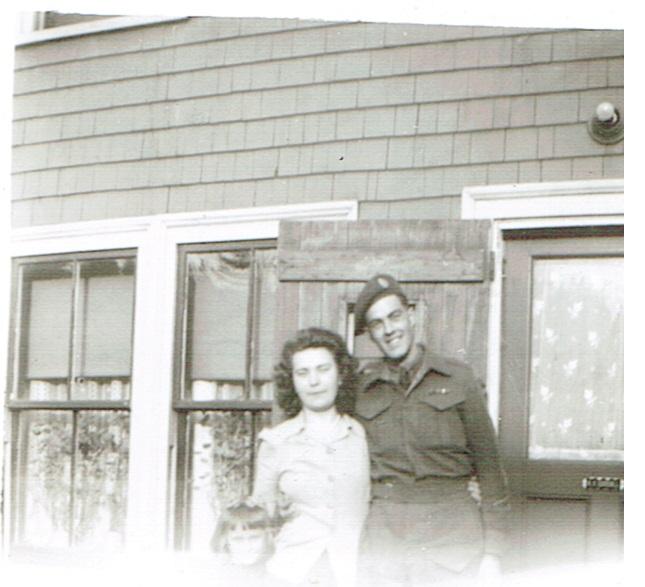 Right: James Franklin Meisner, Second World War veteran
